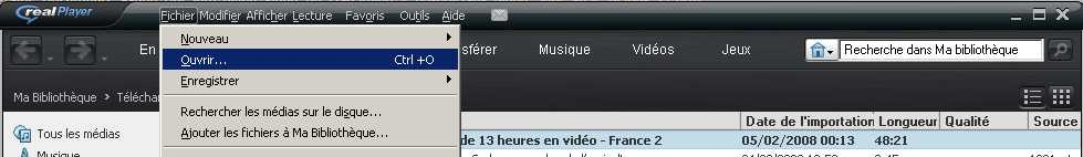 ENREGISTRER YOUTUBE TÉLÉCHARGER VIDEO POUR REALPLAYER LES SUR